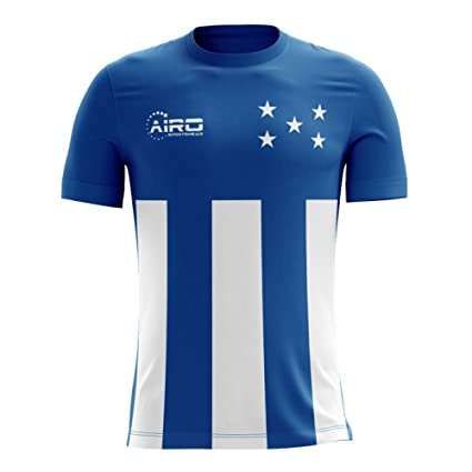 e7e8ce0b312 Image Unavailable. Image not available for. Color  Airo Sportswear 2018-2019  Honduras Away Concept Football Soccer T-Shirt Jersey
