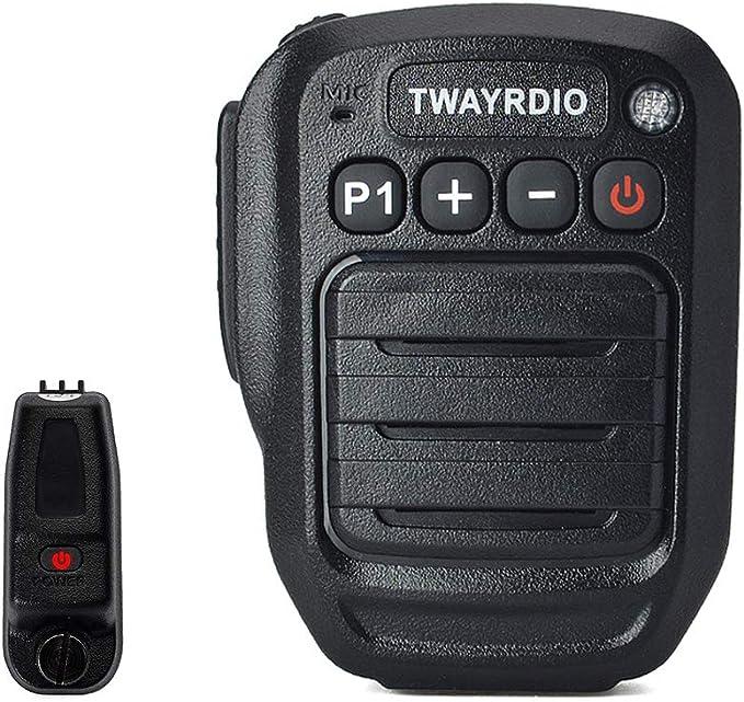 HYS IP66 Waterproof Wireless Bluetooth Shoulder Speaker Microphone with Wireless Finger PTT for Motorola MOTOTRBO XPR-6550 XPR-7350 XPR-7550