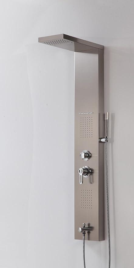 Rs Masaje Jets ducha columna baño ducha multifunción Panel sola ...