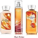 Bath & Body Works Cashmere Glow Gift Set - All New Daily Trio (Full-Sizes)