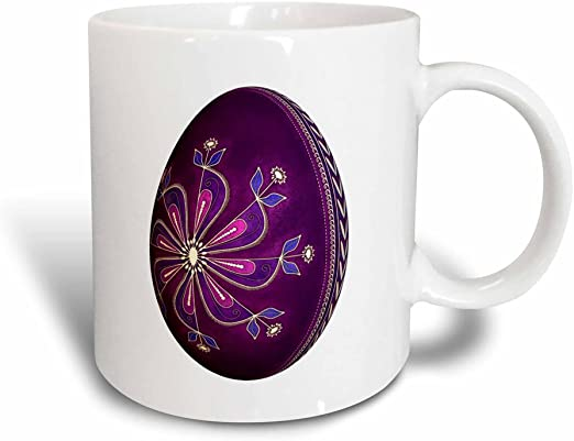 3drose 31210 3 The Curious Cat Black With Orange Eyes Purple Magic Transforming Mug 11 Ounce Multicolored Drinkware Dining Entertaining