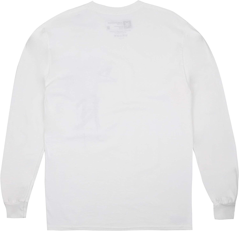Zoo York Tag Cross Long Sleeve T-Shirt /À Manches Longues Homme