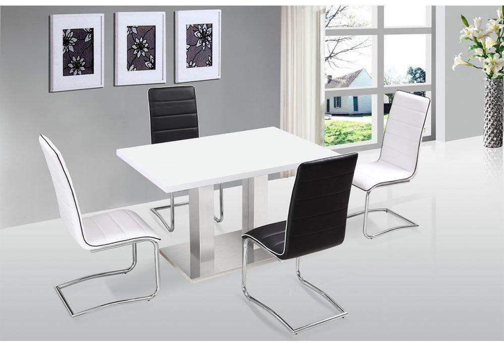 Amazon.de: Walton Esstisch mit 4 Stühlen
