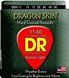 DR Strings DSA-11  Coated Phosphor Bronze Acoustic Guitar Strings, Custom