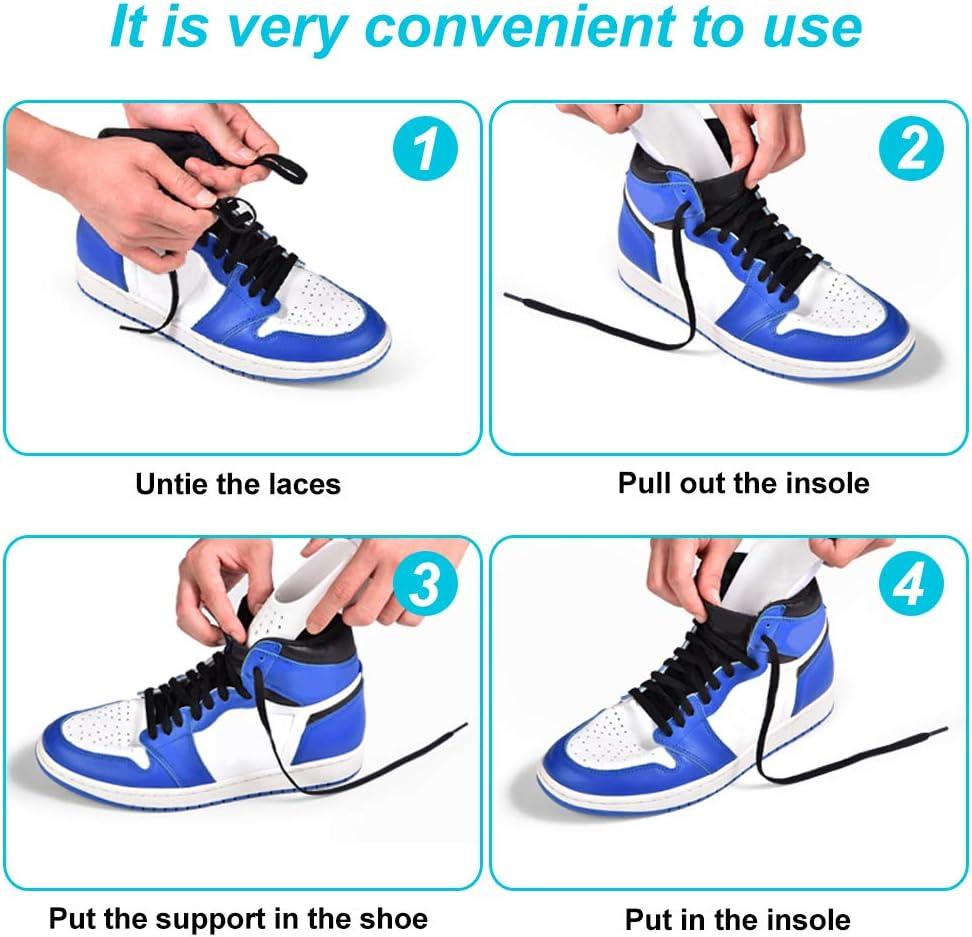 LYTIVAGEN 6 Pares Escudo del Zapato, Hormas para Zapatos ...