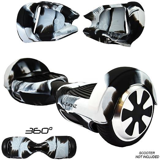 65 opinioni per Cover in gel di silicone per Hoverboard e swegway con ruote da 6,5 pollici