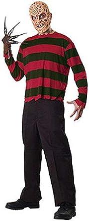 Rubies Freddy Krueger Adults Standard Mens Fancy Dress Halloween Costume Set