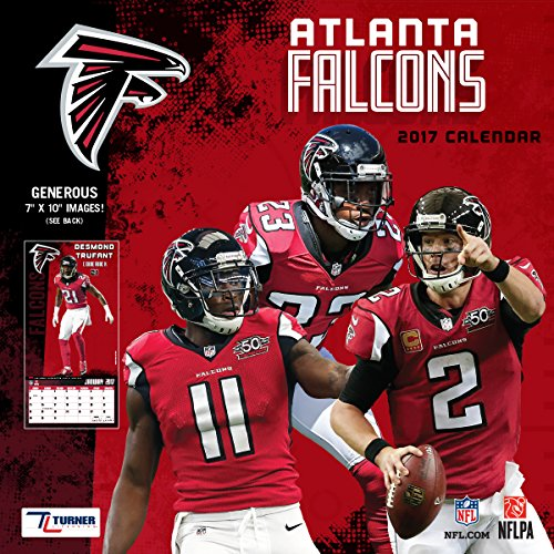 Turner Licensing Sport 2017 Atlanta Falcons Mini Wall Calendar (17998040553)