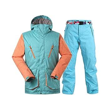 HAONUAN Traje De Esquí Ski Wear Men Ski Snowboard Pants ...