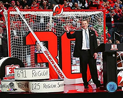 Amazon Com Martin Brodeur New Jersey Devils Retirement Photo Size