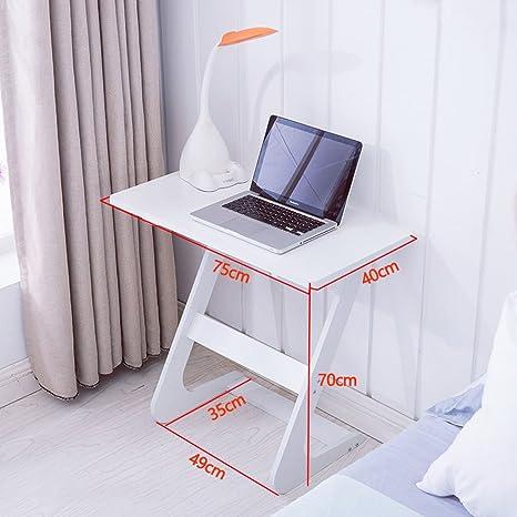Amazon.com: Escritorio para ordenador, mesa auxiliar de casa ...