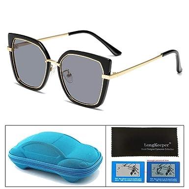 Wang-RX Gafas de sol polarizadas para niños con estuche para ...