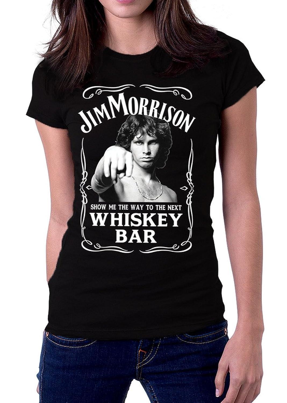 Jim Morrison Show Me The Way Next Whiskey Bar The Doors Womenu0027s T-Shirt  sc 1 st  Amazon.com & Amazon.com: Jim Morrison Show Me The Way To Next Whiskey Bar Doors ... pezcame.com