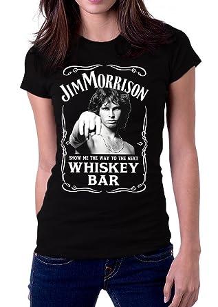 Jim Morrison Show Me The Way Next Whiskey Bar The Doors Women\u0027s T-Shirt  sc 1 st  Amazon.com & Amazon.com: Jim Morrison Show Me The Way Next Whiskey Bar The Doors ...