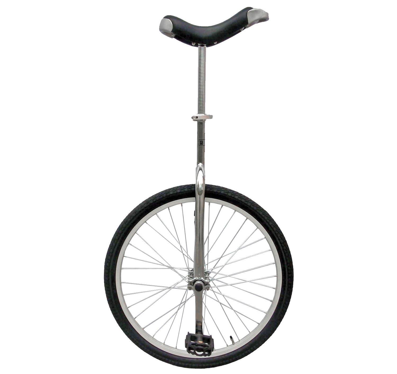 Fun 24 Inch Wheel Chrome Unicycle with Alloy Rim by Fun