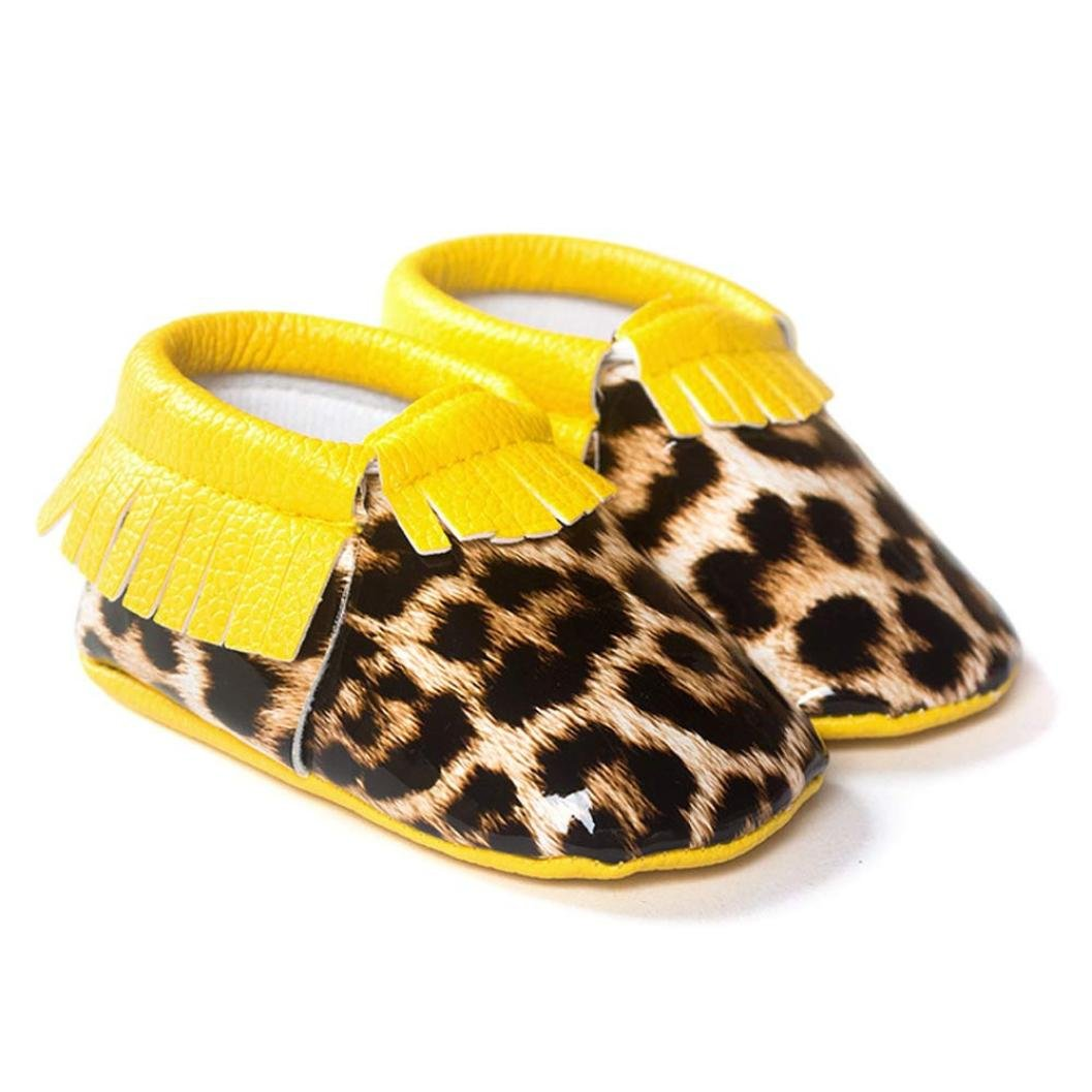 Bow Toddler Soft Anti Slip Prewalker Crib Sneakers for Girl Boy Womail Baby Shoes