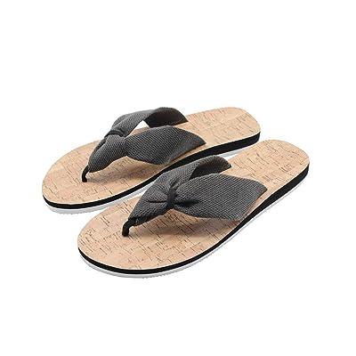 WOJWSKI Women's Thong Flip Flops Indoor Classic Slipper Summer Beach Casual Shoes Outdoor Sandals   Flip-Flops