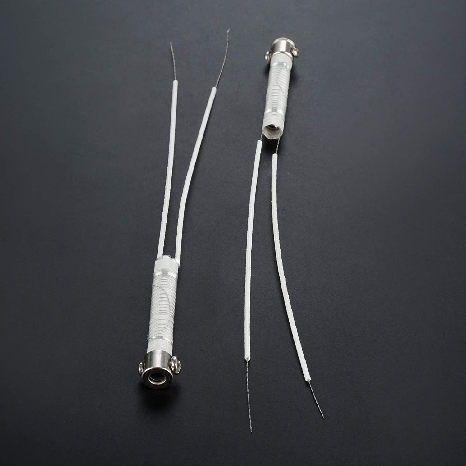 2pcs 220V 80W Welder Electric Soldering Iron Wired Heat Element Core Replacement