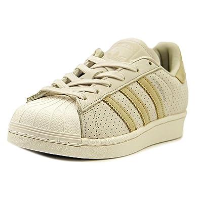 premium selection 08098 8b65b adidas Originals Superstar Fashion J Running Shoe, CBROWN,LINKHA,CWHITE,  3.5 Medium
