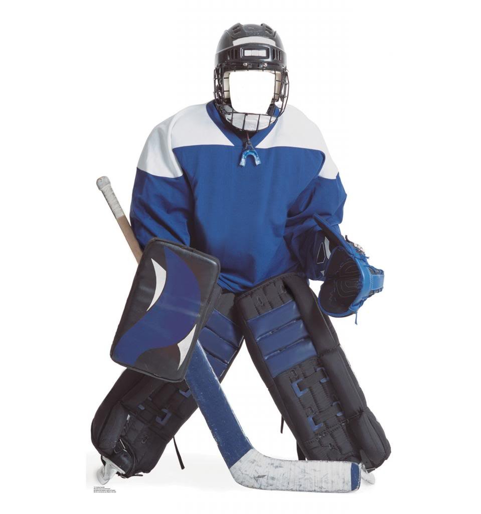Hockey Boy Stand-In - Advanced Graphics Life Size Cardboard Standup by Advanced Graphics