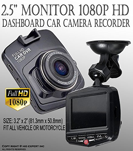 One Pc JDM 2.4'' Full HD 1080P Car DVR Vehicle Camera Video Recorder Dash Camera (Mazda 3 2012 Accessories)