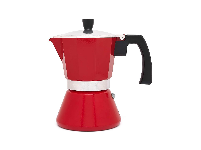 Amazon.com: Leopold Cafetera Espresso 6 tazas Tivoli-roja ...