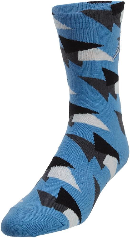 Jordan Aj 7 Crew Socks Unisex Style: SX5648-412 Size: L