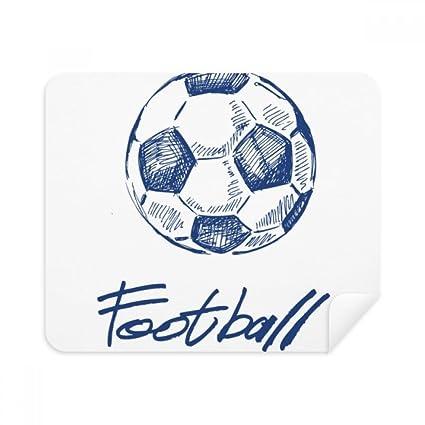 Limpiador de pantalla para gafas, diseño de balón de fútbol, color ...