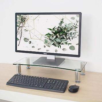 Soporte de Monitor para escritorios | Altura Ajustable | Elevador ...
