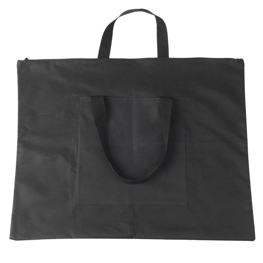 A2 Drawing Board Storage File Bag, Oxford Canvas Sketching Painting Art Supplies Document Carry Case Tote Bag GLOGLOW
