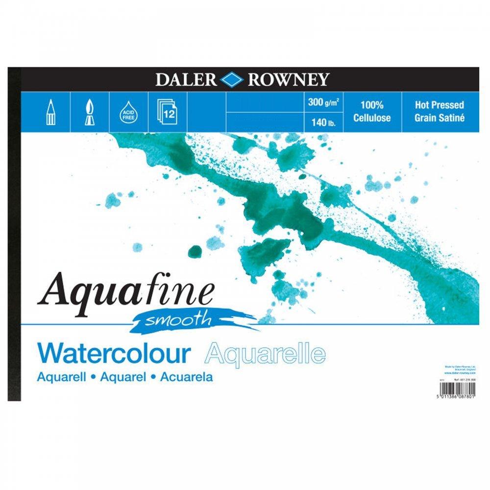 Daler Rowney Aquafine Pad Liscia 140lb A4