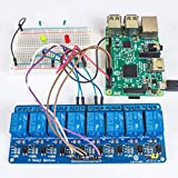 SunFounder 5V 8 Channel Relay Shield Module for