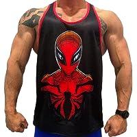 Camisa Fitness de Tirantes para Hombre para Entrenar