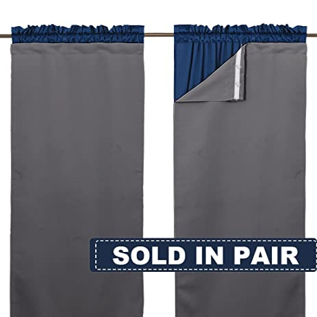 Blackout Draperies Curtain Liners   Black Out Liners Set For Living Room,95  Long Curtains