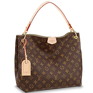93691650201 Amazon.com: Louis Vuitton Monogram Canvas Graceful PM Shoulder ...