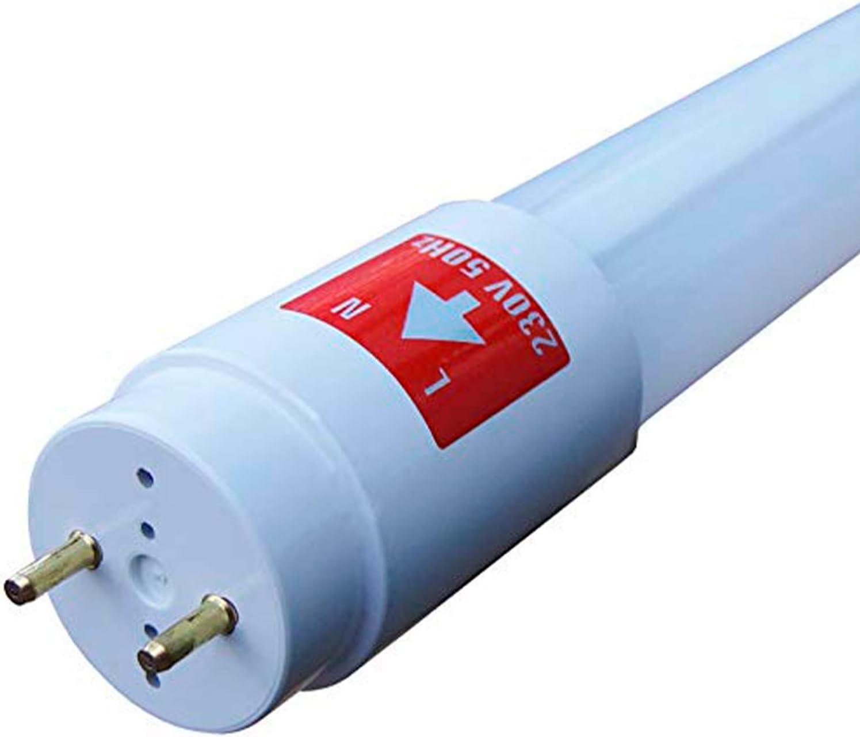3er Set Showlite LED R/öhre 120cm 1200mm Leuchtstoffr/öhre, T8 G13, 1750 Lumen, 4500 Kelvin, Tageslichtwei/ß, Leistung: 18W