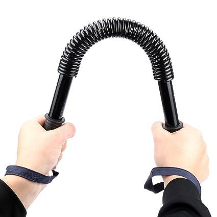 Frisch Práctico Power Twister Flexible Fuerza Pecho Hombro Brazo Barra Resorte ejercitador Fuerza muñeca Mano Agarre