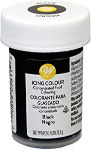 Icing Colors 1oz-Black