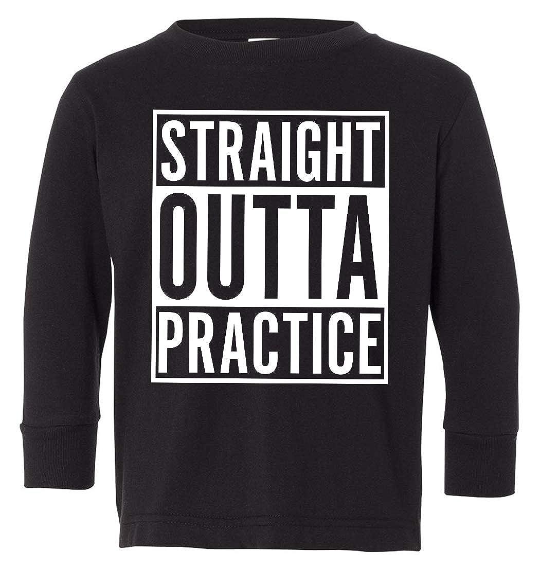 Tenacitee Babys Straight Outta Practice Shirt