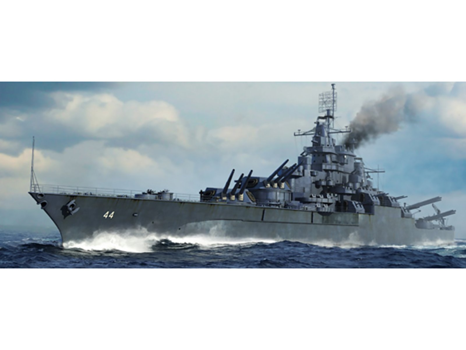 Trumpeter 1/700 05784 USS California BB-44 1945