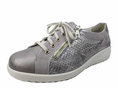 Femme À Lacets Chaussures 4900040344 Ville Pour De Amazon Solidus 10wTq1