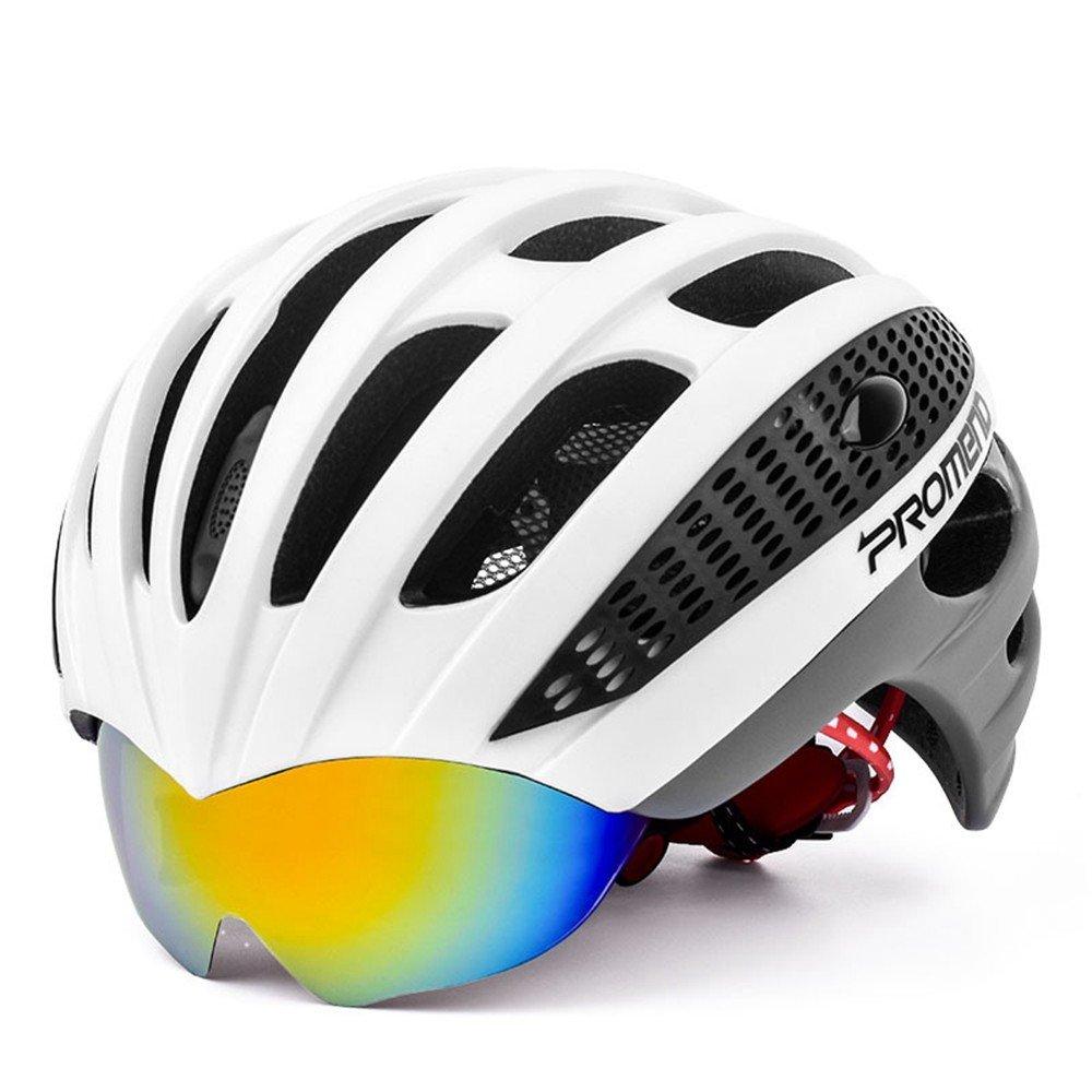 LOLIVEVE - Gafas de Ciclismo para Hombre y Mujer, Ligeras, Cascos de Carretera, Coches, Hombres y Mujeres, Sub Light Black Red: Amazon.es: Deportes y aire ...