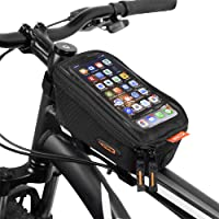 Ibera - Bolsa para teléfono de Bicicleta, Resistente al Agua, con visualización táctil, para iPhone XS/XS MAX 8/8 Plus, Samsung Galaxy S9 Note, teléfono Celular por Debajo de 6 Pulgadas