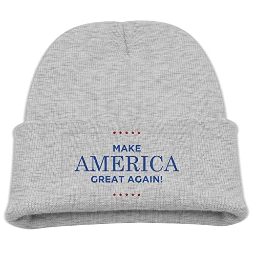 0f0a7d11cf5 Banana King Make America Great Again Baby Beanie Hat Toddler Winter Warm  Knit Woolen Cap for Boys Girls at Amazon Men s Clothing store
