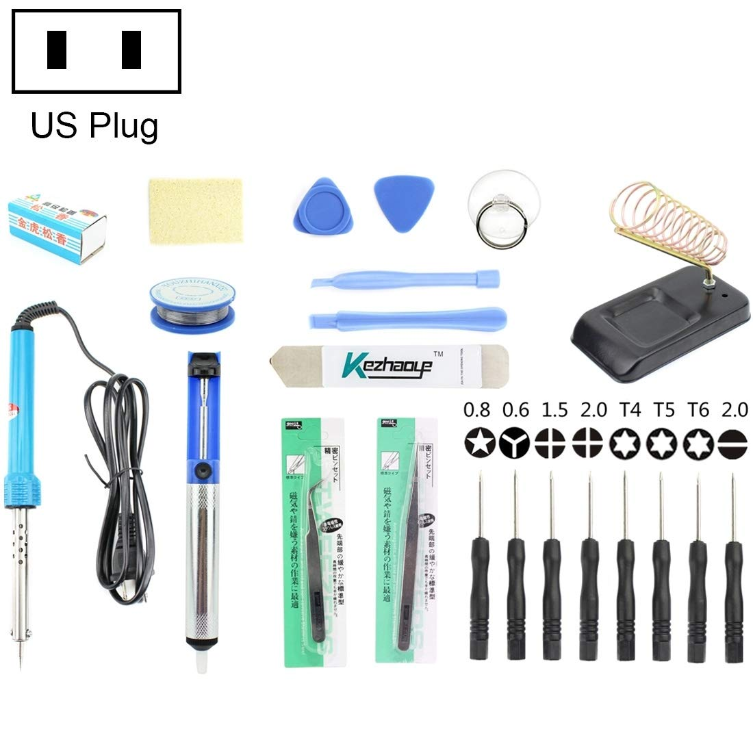 Toos Accessory JF-8120 22 in 1 Soldering Iron Tool Set Hand Tools (SKU : 22 in 1)