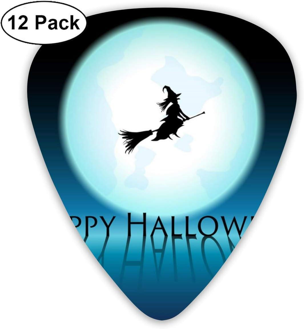 Cavdwa Happy Halloween Bruja en Azul Luna Vector Imagen ...