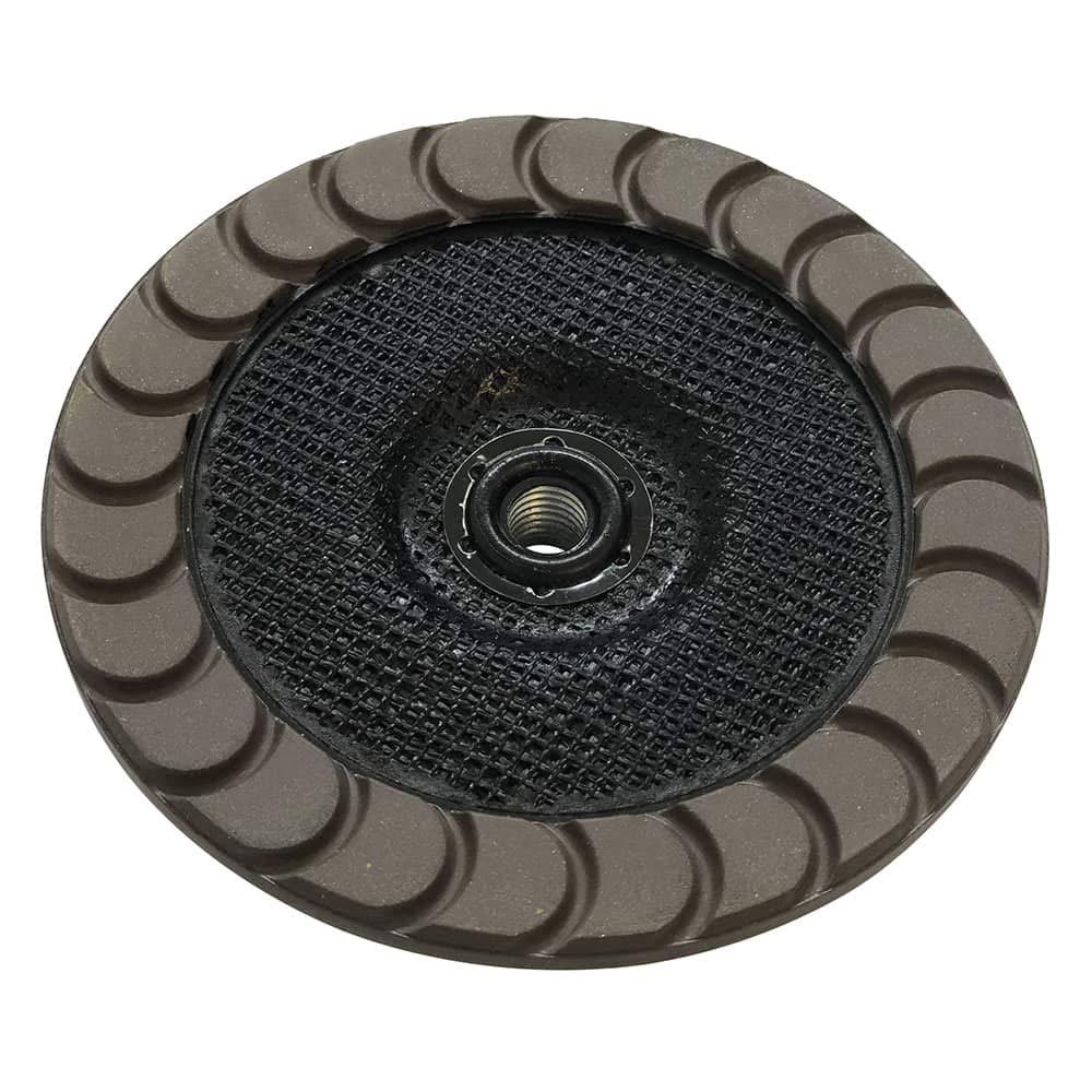 7'' Ceramic Grinding Wheels for Concrete Polishing - 30 Grit 5/8''-11 Arbor