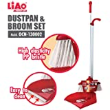 LIAO OCN-130002 Dustpan & Broom Set, 29L x 4W x 89H