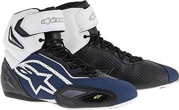 Alpinestars Faster 2 Vented - Zapatos de moto para hombre, microfibra – Negro y rojo: Amazon.es: Coche y moto