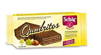 Amazon.com : Schär Quadritos (2 x 40g) - Gluten Free ...